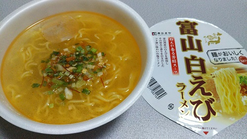 『全国麺めぐり 富山白えびラーメン』