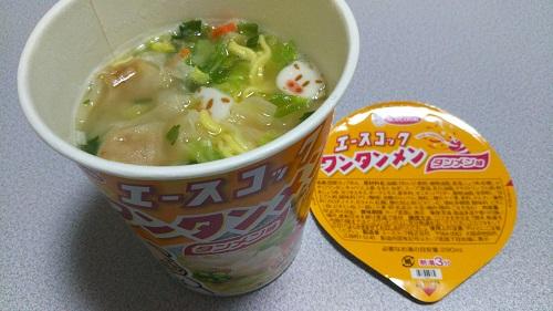 『タテ型 ワンタンメン タンメン味』