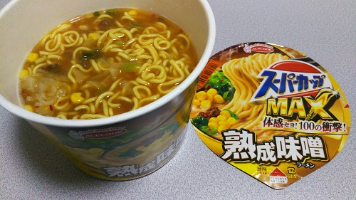 『スーパーカップMAX 熟成味噌』