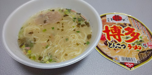 『日清麺NIPPON 博多とんこつラーメン』
