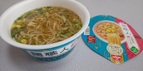 『日清麺職人 台湾麺線風鰹とろみそば』