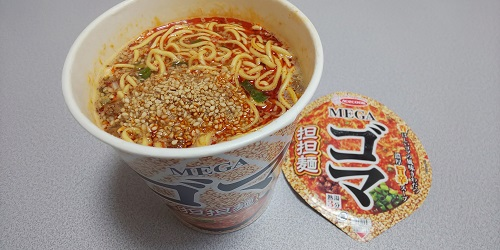 『MEGAゴマ担担麺』
