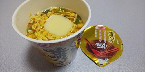 『飲み干す一杯 味噌バター味ラーメン』