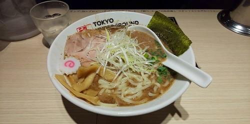 TOKYO UNDERGROUND RAMEN 頑者『ラーメン』