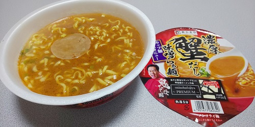 『濃厚蟹だし味噌らぁ麺』