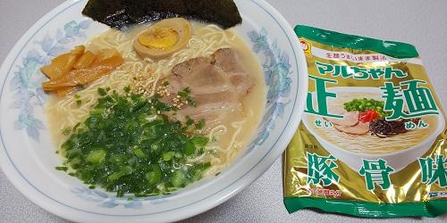 『マルちゃん正麺 豚骨味』