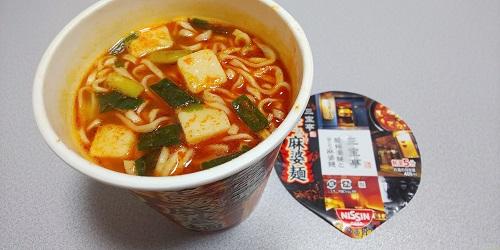 『三宝亭東京ラボ 全とろ麻婆麺』