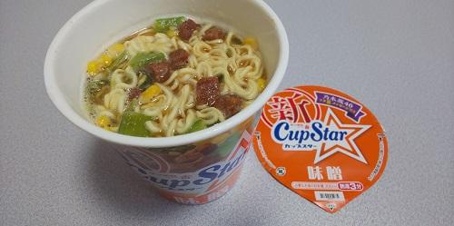 『サッポロ一番 カップスター 味噌』